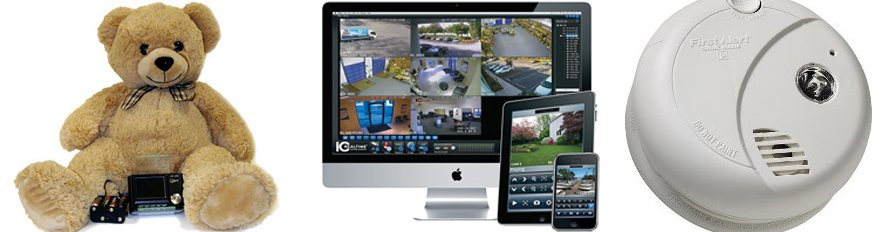 Serious Audio Video Nanny Cams & residential surveillance